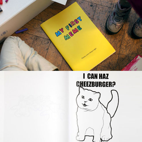'MY FIRST MEME' COLORING BOOK