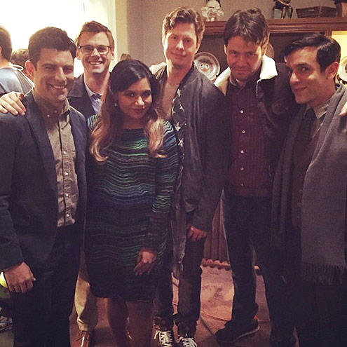 WHEN B.J. WAS ON THE MINDY PROJECT
