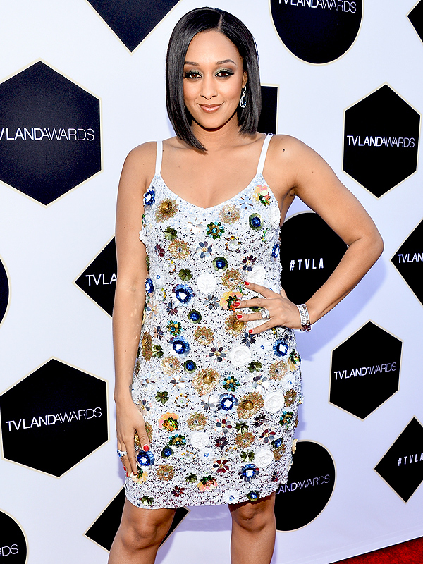 Tia Mowry Hardrict TV Land Awards