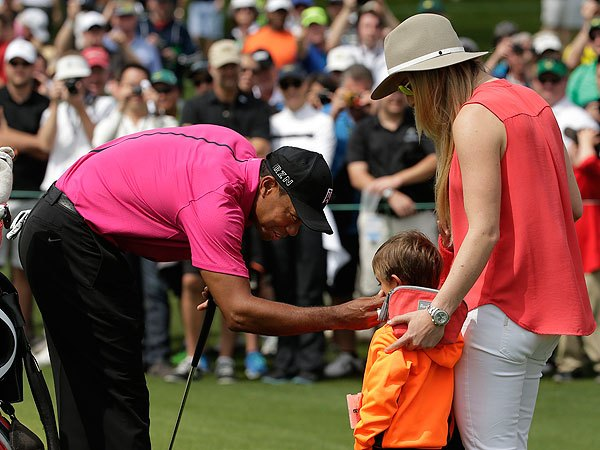 Tiger Woods kids golf course Masters Tournament