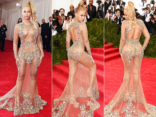 Met Gala 2015: See Beyonce's Sheer Dress from Every Angle | PEOPLE.com