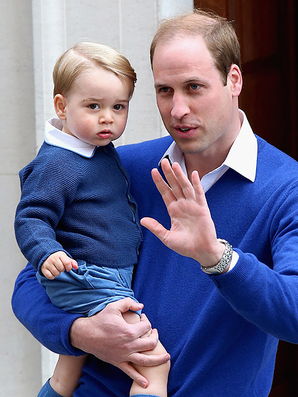 WILLIAM'S GOT THE ROYAL WAVE DOWN, TOO