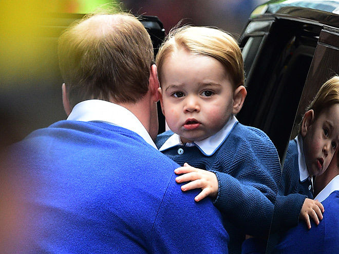 DID WE MENTION HOW CUTE GEORGE IS YET?
