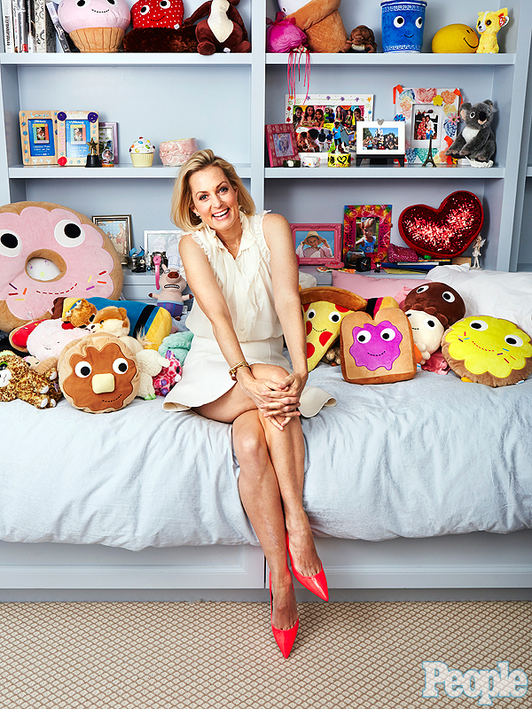 Ali Wentworth at home