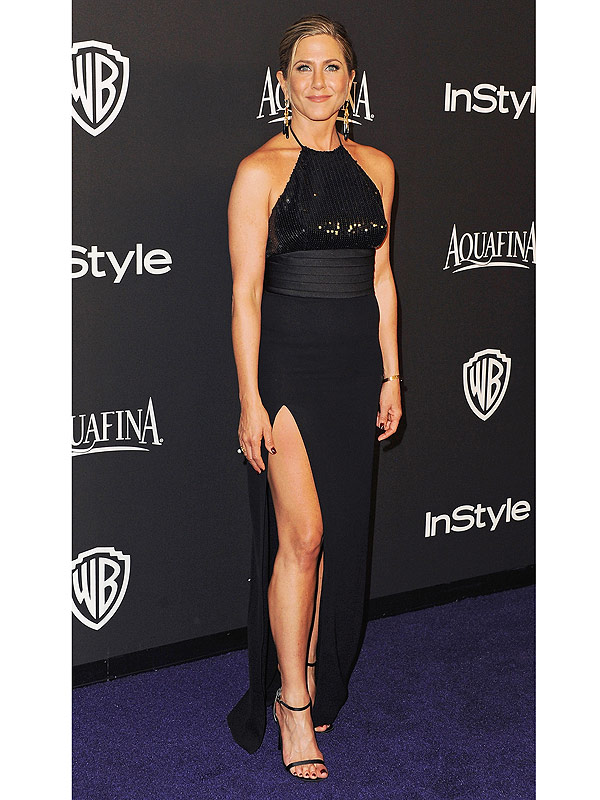 Jennifer Aniston arrives at the 16th Annual Warner