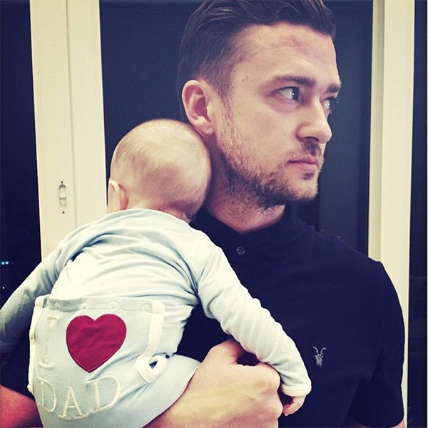 Justin Timberlake Silas Father's Day