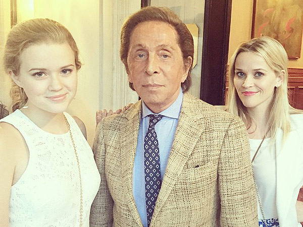 Reese Witherspoon, Ava and Valentino
