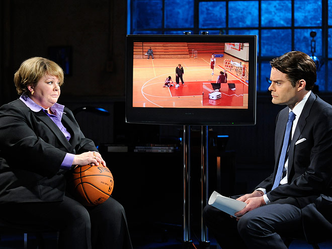 COACH SHEILA KELLY, SNL