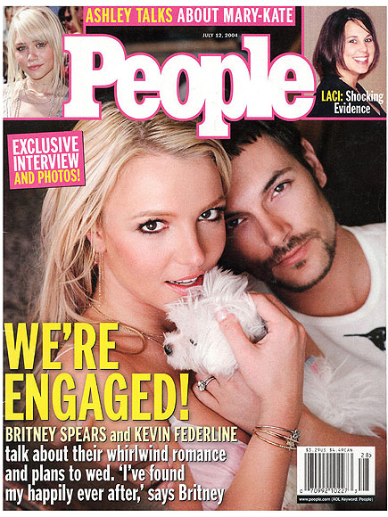 2004: BRITNEY SPEARS & KEVIN FEDERLINE ARE ENGAGED, Y'ALL