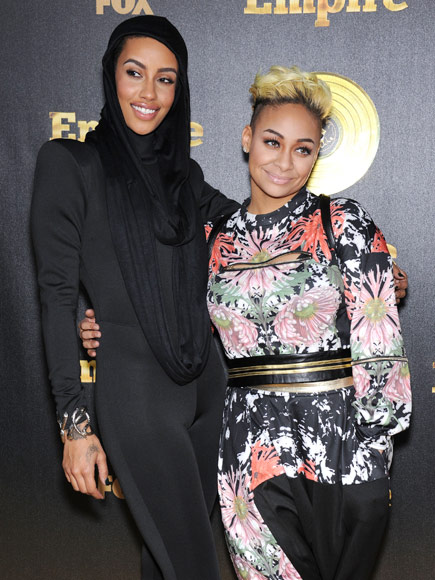 Raven Simone (right) with partner AzMarie Livingston