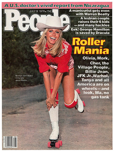 1979: STARS ARE LACING UP THEIR ROLLER SKATES!