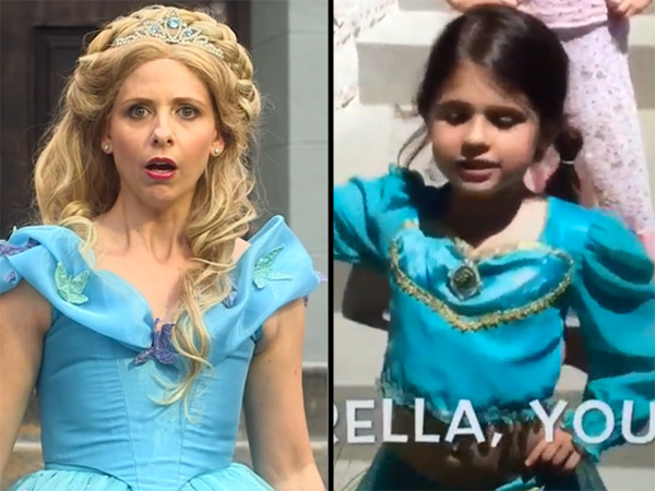 Sarah Michelle Gellar daughter princess rap battle