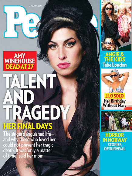 2011: AMY WINEHOUSE JOINS THE 27 CLUB