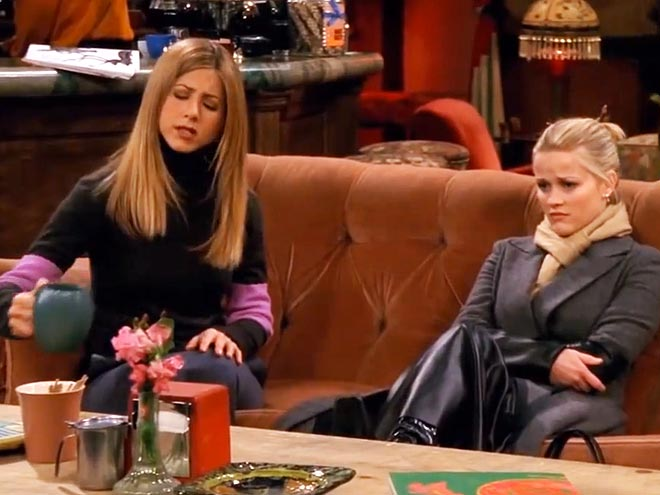 2. REESE GUEST-STARRED ON FRIENDS