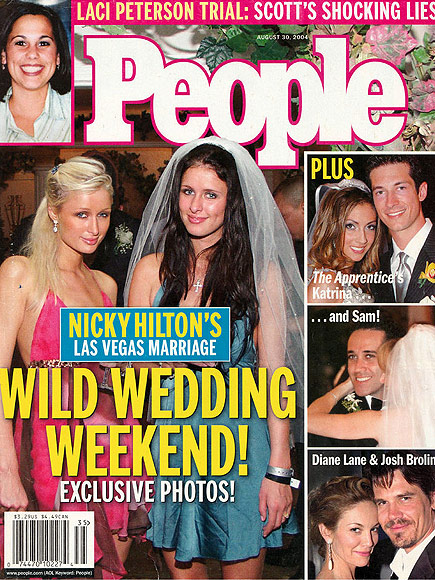 2004: NICKY HILTON GETS HITCHED IN VEGAS