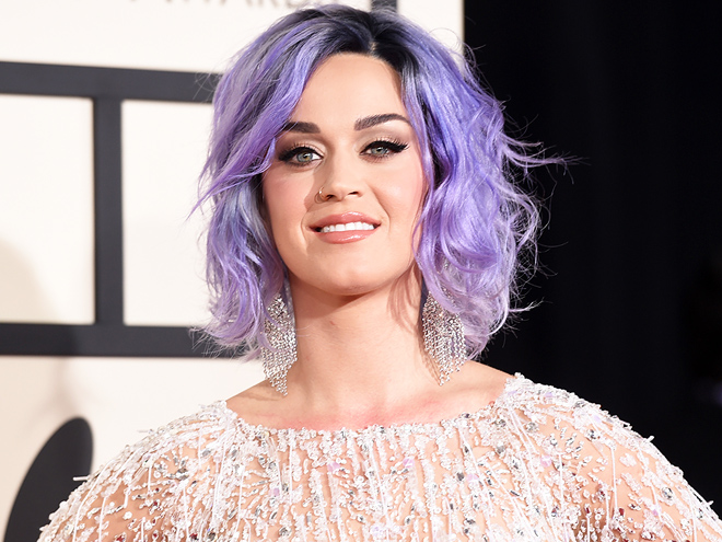 KATY PERRY'S PURPLE HAIR