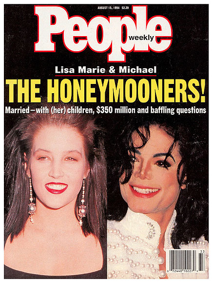 1994: MICHAEL AND LISA MARIE GET HITCHED