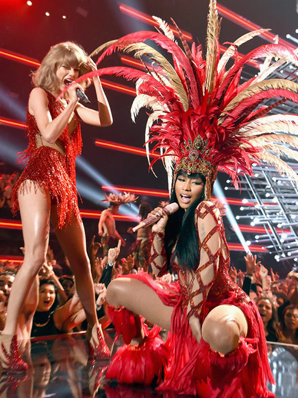 TAYLOR AND NICKI DUETTED
