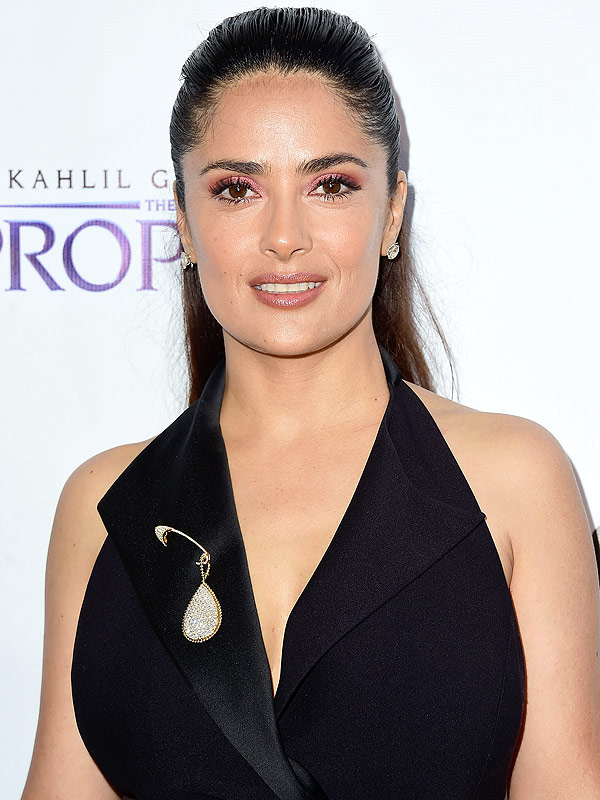 LOS ANGELES, CA - JULY 29: Actress Salma Hayek ar