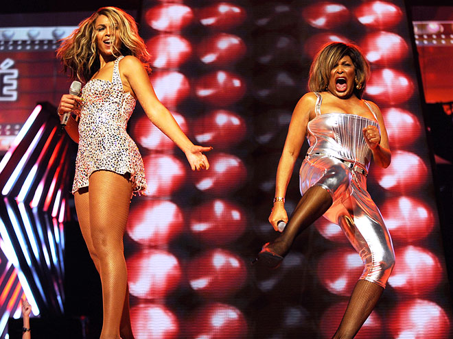 BEY AND TINA SHARE THE CROWN