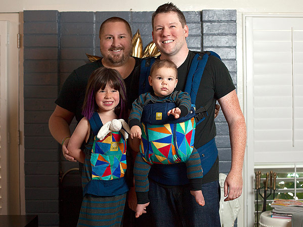 Bill Horn Scout Masterson Guncles baby carrier