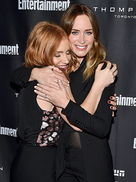 JESSICA CHASTAIN & EMILY BLUNT