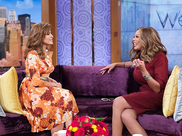 Eva Mendes The Wendy Williams Show