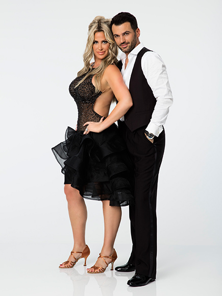 Kim Zolciak-Biermann and Tony Dovolani