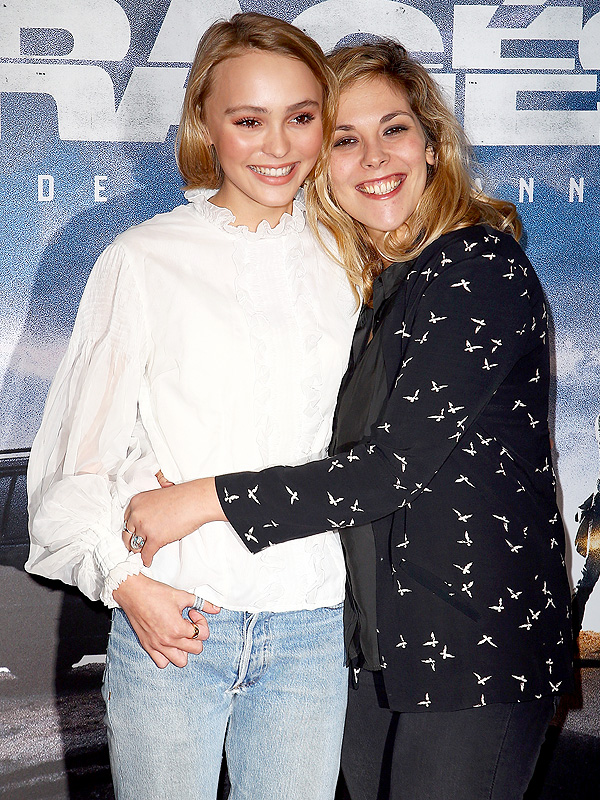 Lily-Rose Depp and Alysson Paradis