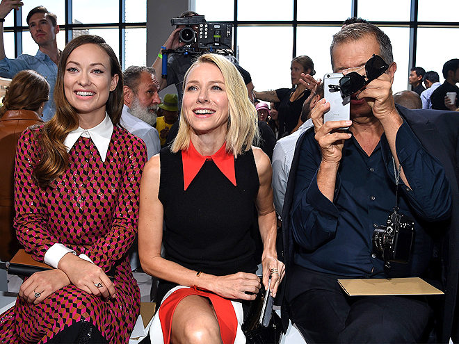 MICHAEL KORS FRONT ROW