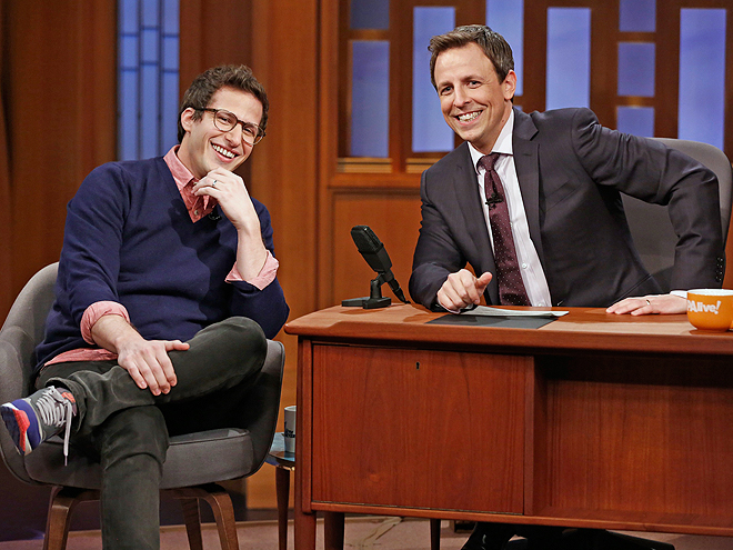 TAKE ONE SIP EVERY TIME SETH MEYERS IS ON-SCREEN