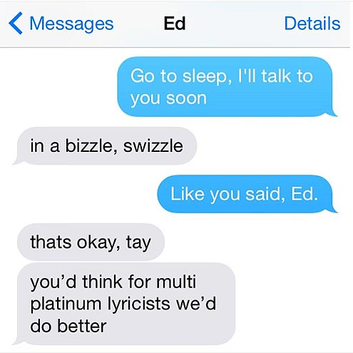 CHATS WITH ED