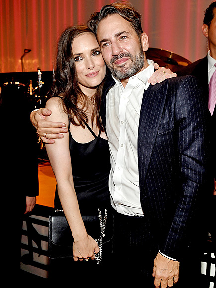 WINONA RYDER AND MARC JACOBS