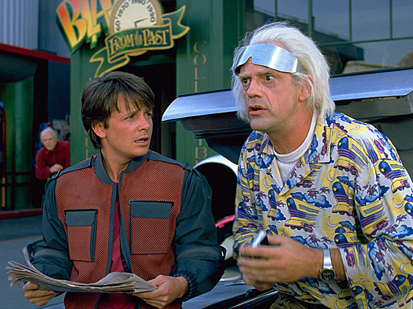 Back to the Future Day party