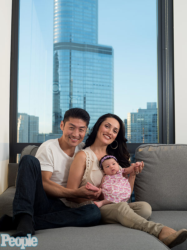 Brian Tee daughter Madelyn photo