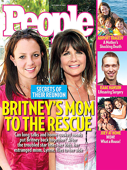 2007: MAMA SPEARS RUSHES TO BRITNEY'S SIDE