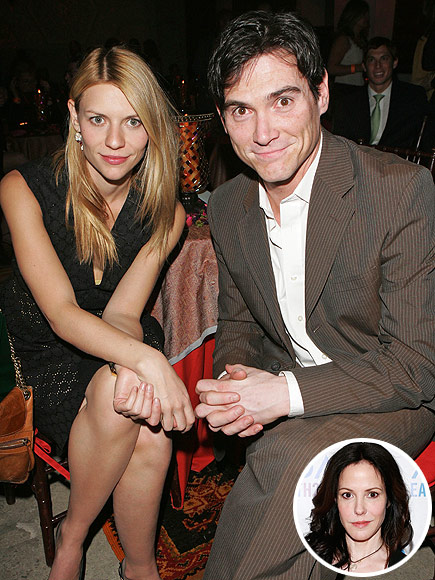 Claire Danes and Billy Crudup in 2006. Inset: Mary-Louise Parker