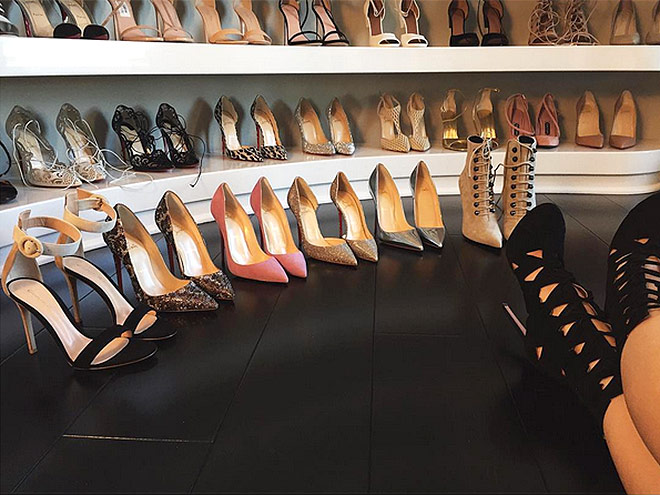 5. YOU HAVE A CLOSET – JUST FOR YOUR SHOES