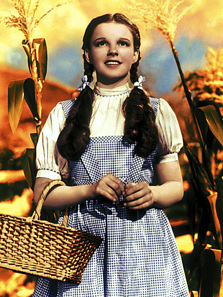 6. JUDY GARLAND'S GINGHAM FROCK FROM THE WIZARD OF OZ