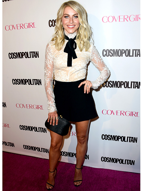 Julianne Hough Cosmopolitan 50th anniversary party