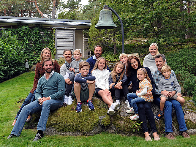 THE ROYAL FAMILIES OF NORWAY, DENMARK, SWEDEN AND LUXEMBOURG