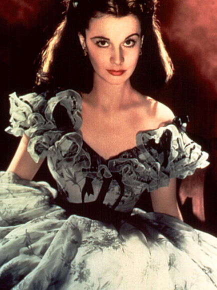 8. VIVIEN LEIGH'S BLUE DRESS FROM GONE WITH THE WIND