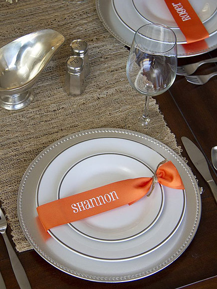 PLACE CARD RIBBONS