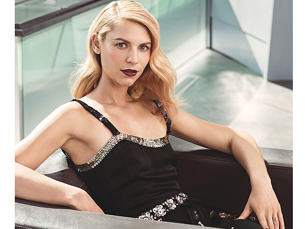 Claire Danes in Allure December issue