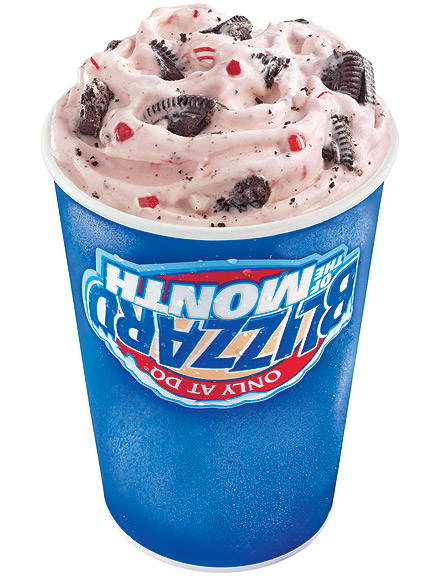 CANDY CANE BLIZZARD