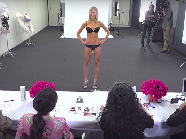 Victoria's Secret Fashion Show casting process