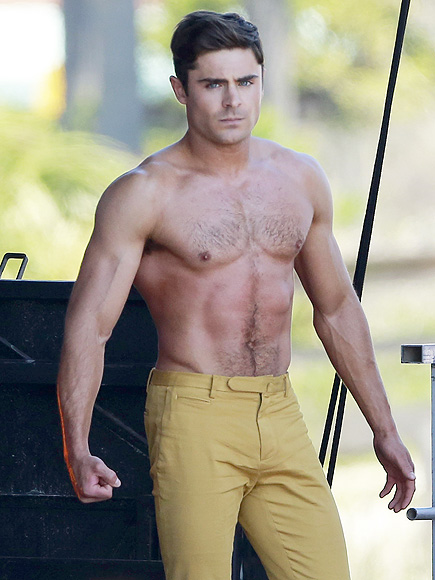 ZAC EFRON MISPLACED ALL OF HIS SHIRTS