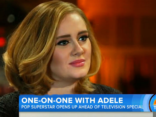 Adele Today Show