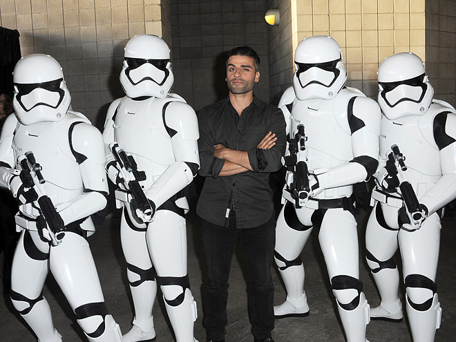 THAT TIME HE POSED WITH SOME STORMTROOPERS