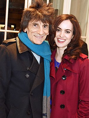 Ronnie Wood wife Sally expecting twins